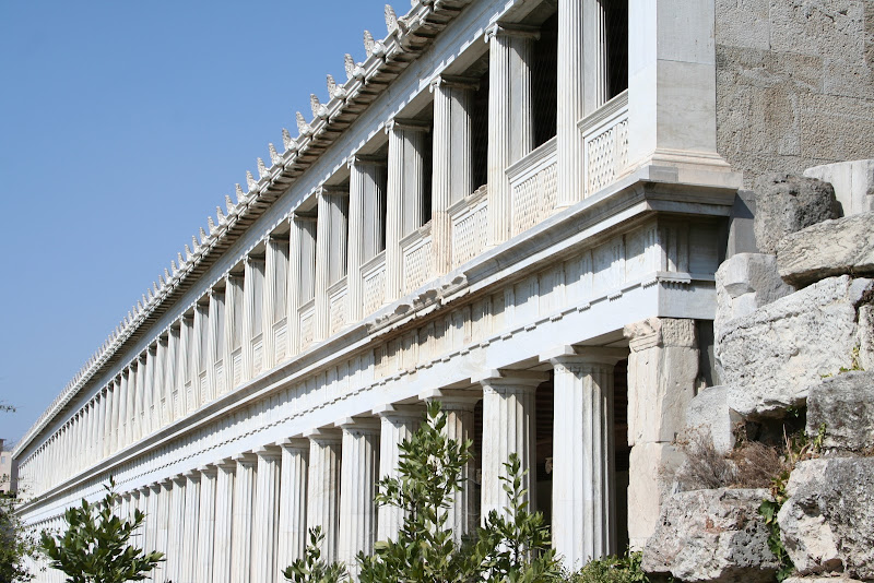Stoa of Attalos' first floor to open to public