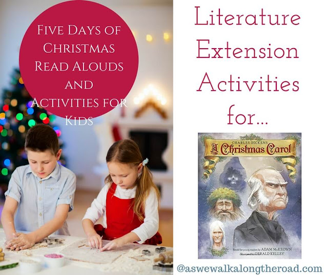 Literature extension activities for A Christmas Carol #literature #homeschooling