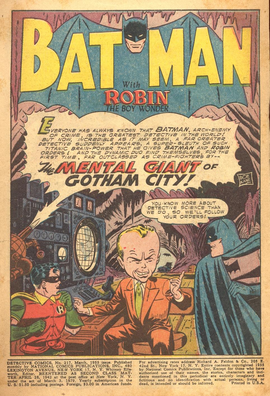Detective Comics (1937) 217 Page 2