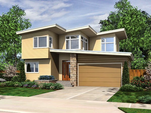 Modern Contemporary House Plans picture