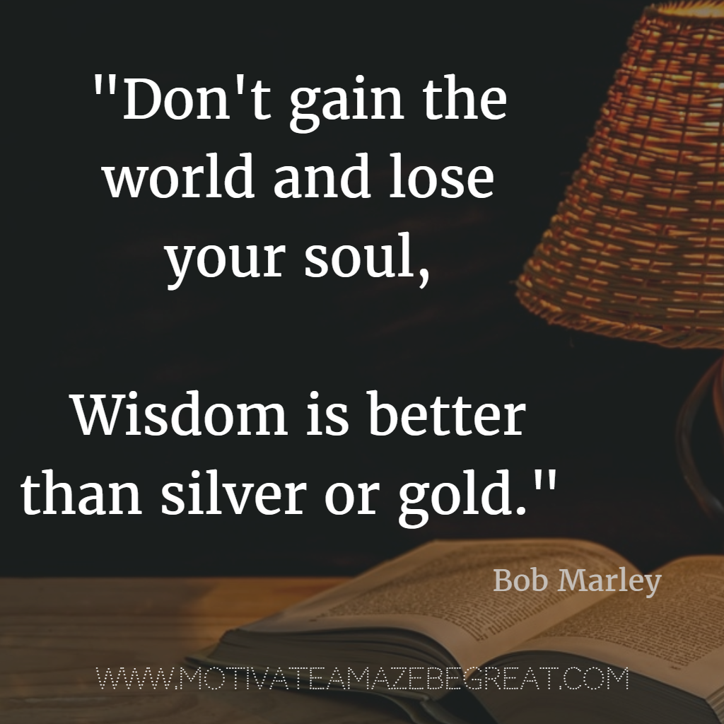 Bob Marley History Quote: 40 Most Powerful Quotes And Famous Sayings In History