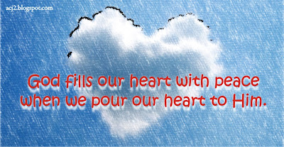 fill our heart with peace