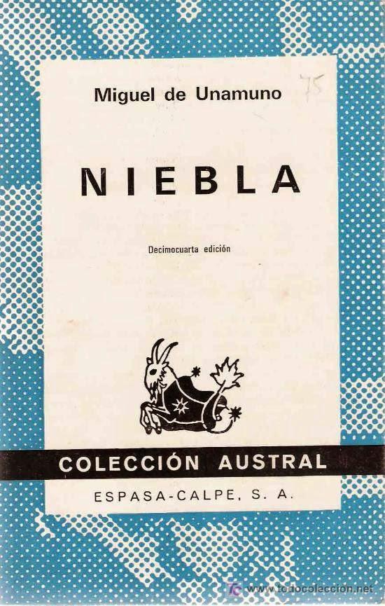 Nieblo, de Miguel de Unamuno