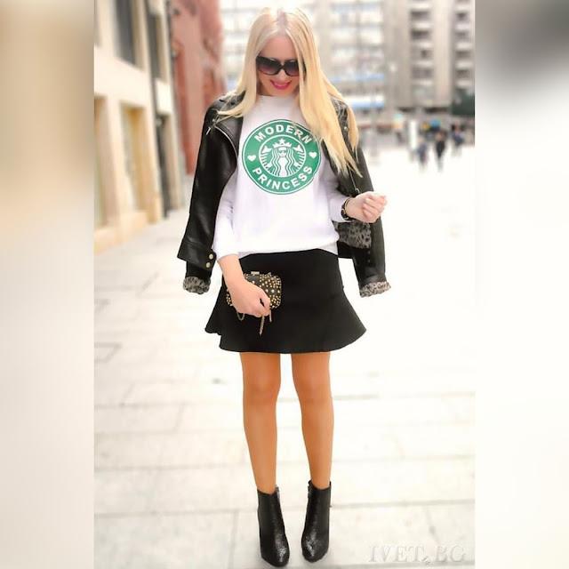 Μακρυμάνικη γυναικεία άσπρη μπλούζα JOANNE