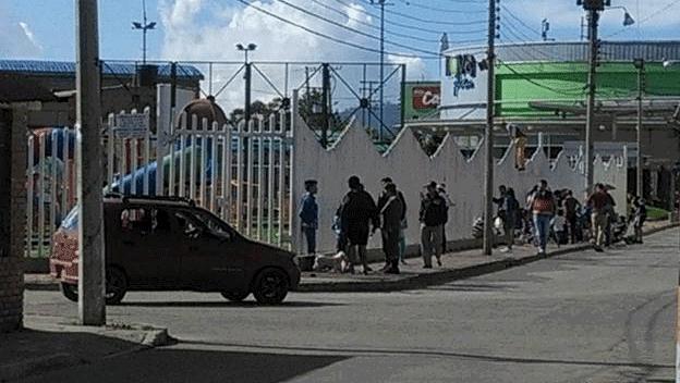 """Denuncian invasión y daños en el parque """"Las Ballenitas"""" de Facatativá"""