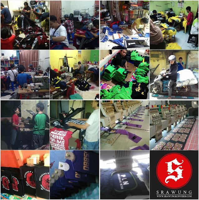 profil srawung konveksi, grosir, kaos polos, jaket, kemeja, seragam, pdh, pdl, almamater, setelan, sablon, bordir, topi, tas, murah, malang, kepanjen, batu, indonesia