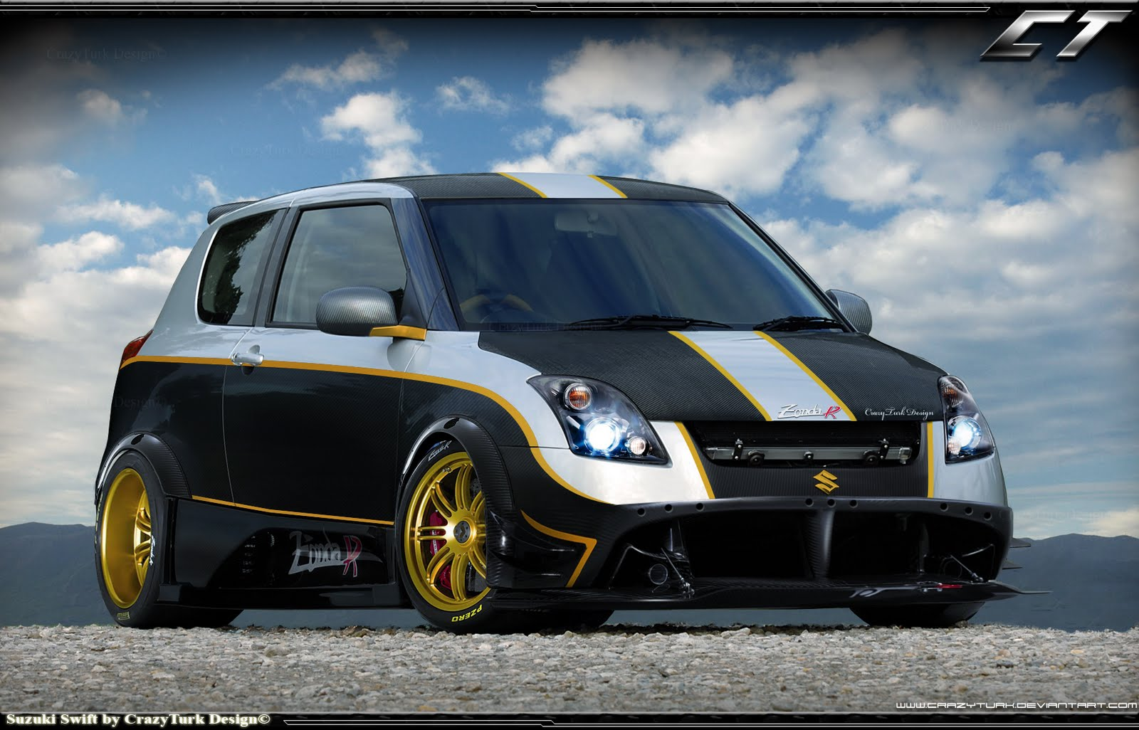 Cars Wallpapers: Wallpapers Background: Suzuki Swift Wallpapers