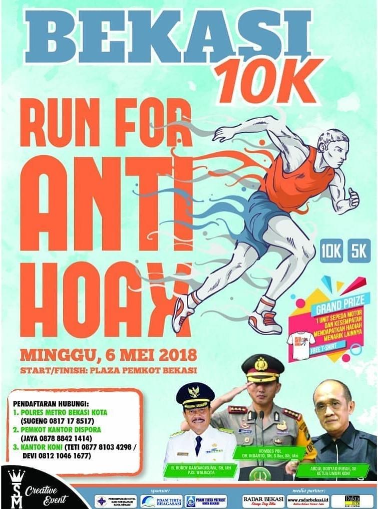 Run For Anti Hoax • 2018