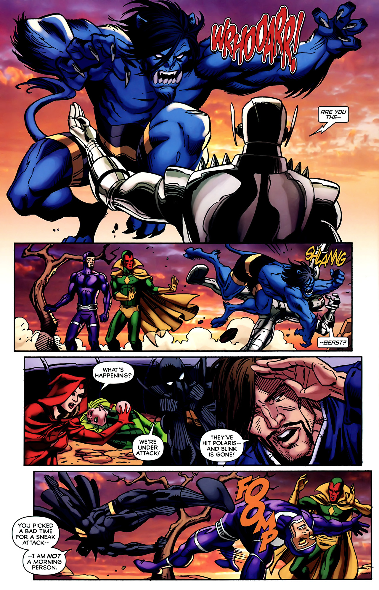 Read online Exiles (2009) comic -  Issue #4 - 16