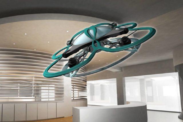Teknologi Drone Sebagai Pengingat Jam Pulang