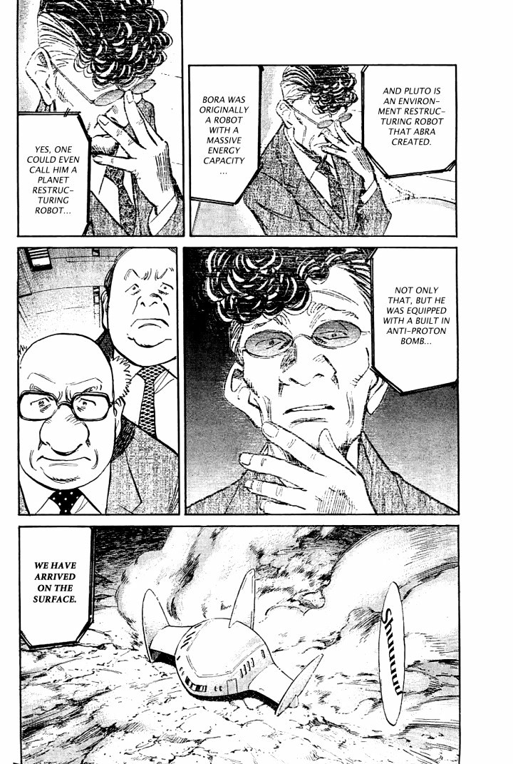 Page 8, Act 64: Sound of the End from Naoki Urasawa's Pluto Volume 8