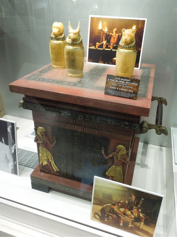 Mummy Canopic Jar chest movie props