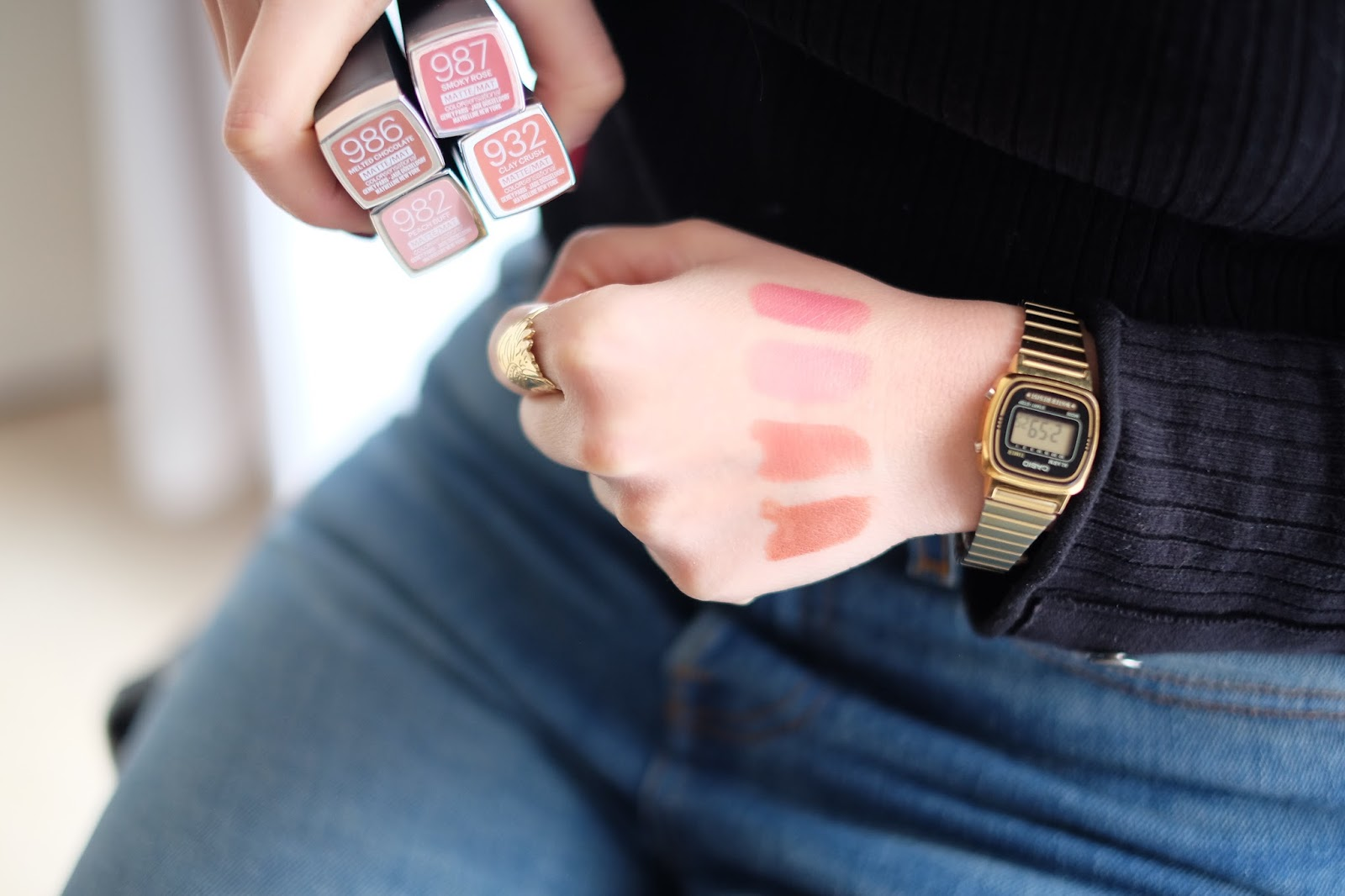 amenidaily, blog mode, blog mode lyon, blogueuse lyonnaise, maybelline, makeithappen, 24karatNudes