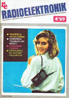 Okładka Radioelektronik 4'89