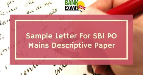 Sample formal letter for sbi po mains descriptive paper bank exams sample formal letter for sbi po mains descriptive paper bank exams today spiritdancerdesigns Choice Image