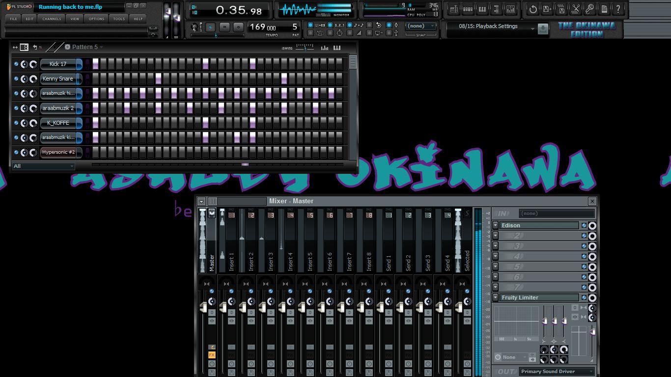 Custom FL Studio Skins: The Ashley Okinawa Producer Edition