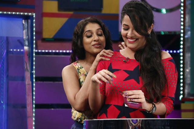 Rashmi gautham, anasuya in latest boom boom show