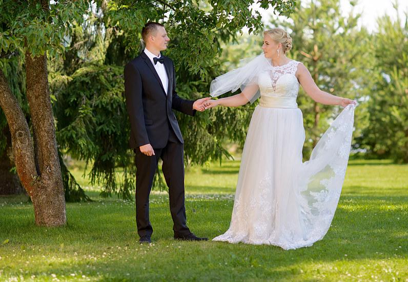 vestuvinė fotosesija Telšiuose