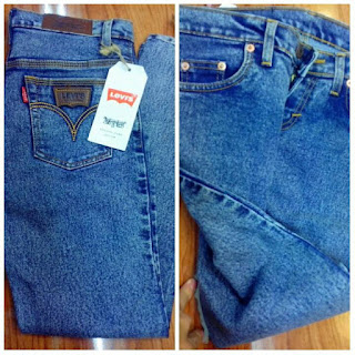 Celana Jeans Snow Blue
