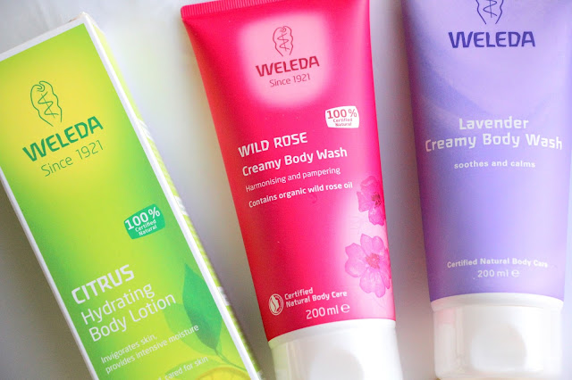 weleda creamy body wash review