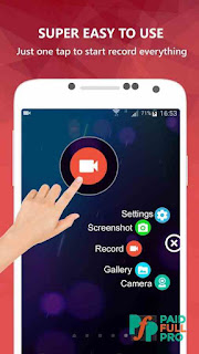 AZ Screen Recorder No Root premium APK