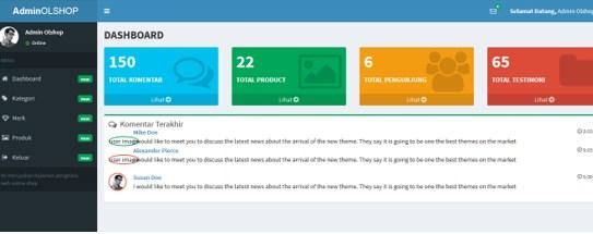 Aplikasi Toko Online Codeigniter Sederhana Gratis