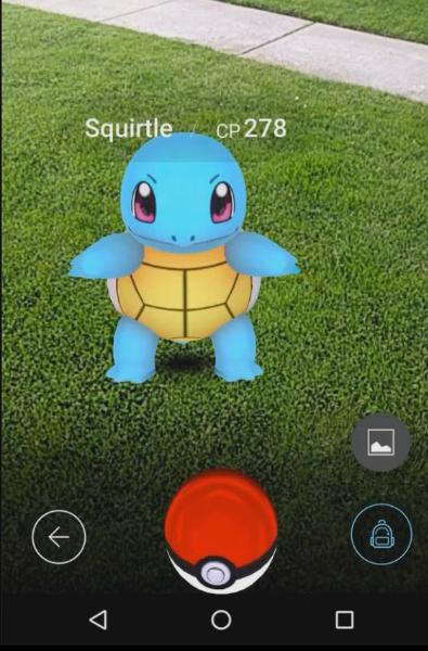 Squirtle CP Pokemon Go
