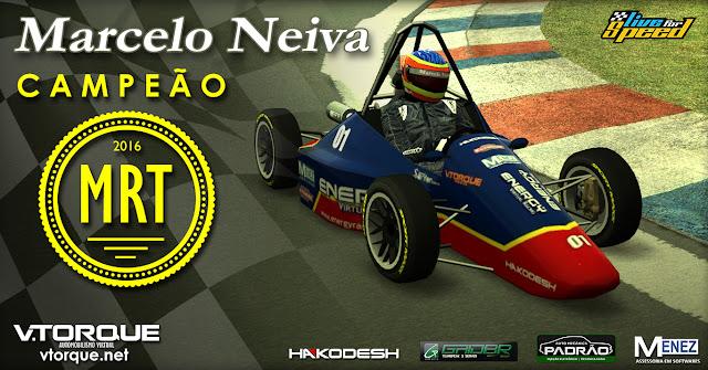 Marcelo Neiva - Campeão MRT 2016