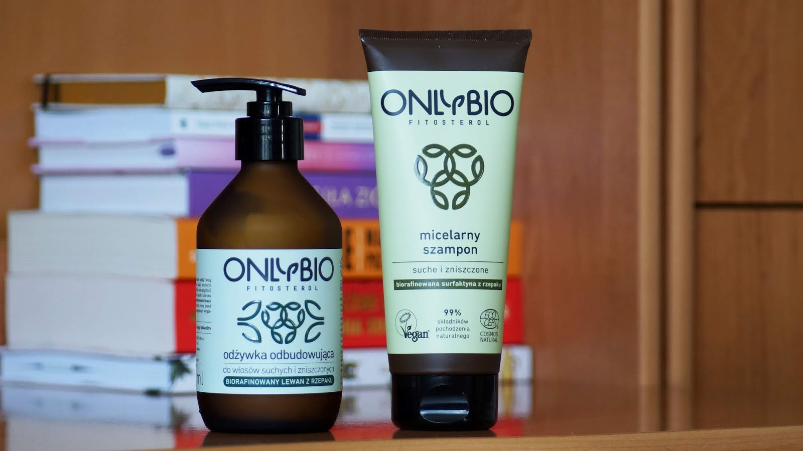 Zestaw kosmetyków do włosów suchych i zniszczonych od Only Bio