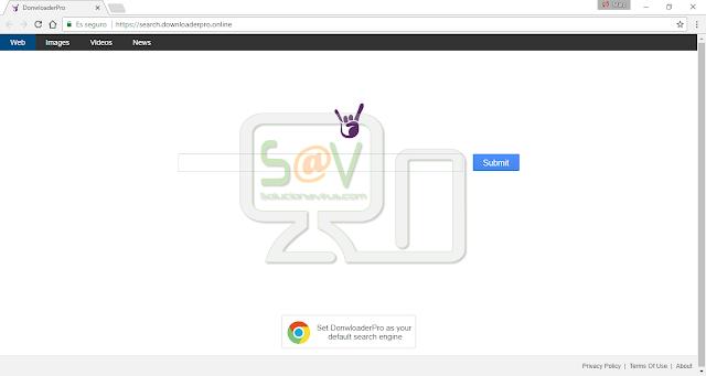 Search.downloaderpro.online (Hijacker)