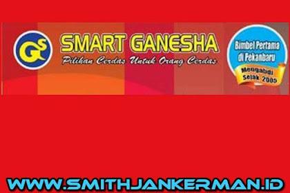 Lowongan Kerja Pekanbaru Bimbel Smart Ganesha Januari 2018