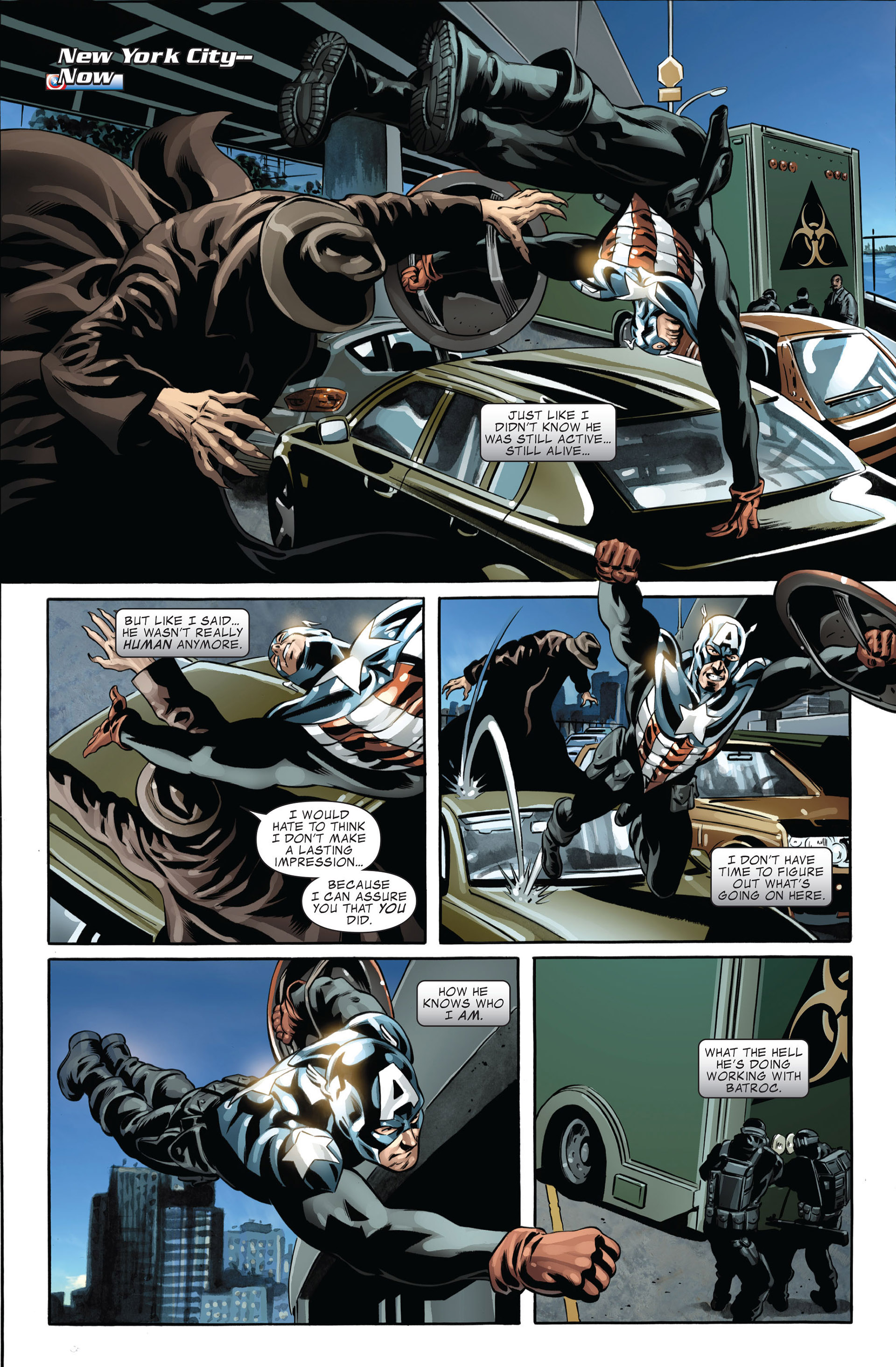 Read online Captain America (2005) comic -  Issue #45 - 5