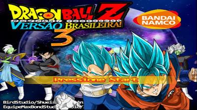 BAIXAR PS2 TPB 3 BALL DRAGON BUDOKAI TENKAICHI Z