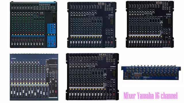 Harga Mixer Yamaha 16 Channel