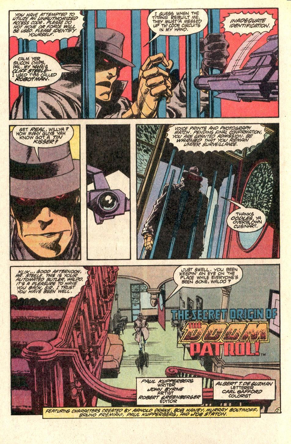Read online Secret Origins (1986) comic -  Issue # _Annual 1 - 3