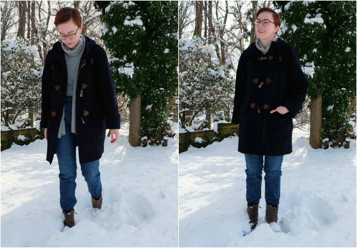 how to shop for coats thrifted and secondhand everlane puffer stylewise-blog.com