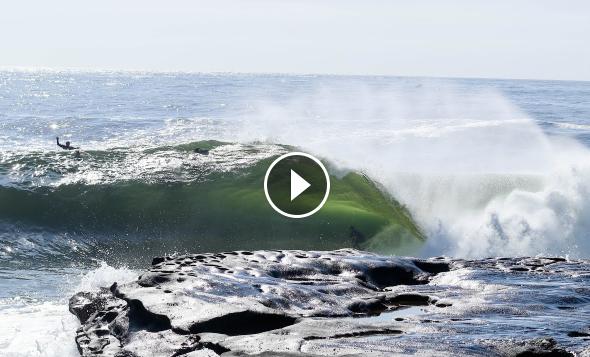 Surfing Cyclone Usei -Sydney s Cape Solander