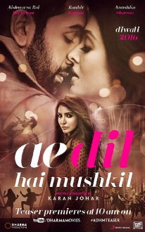 Ae Dil Hai Mushkil (2016) Hindi DVDRip 700MB