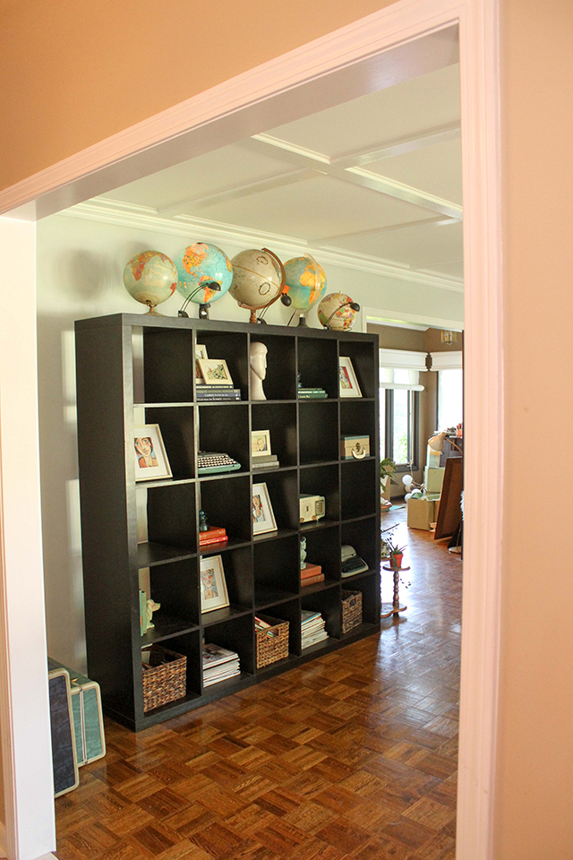 We Plan On Knocking Out The Big Wall Where Shelf Is As Well A In Dining Room And Opening Up Kitchen Ton