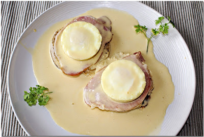 Low Fat Eggs Benedict
