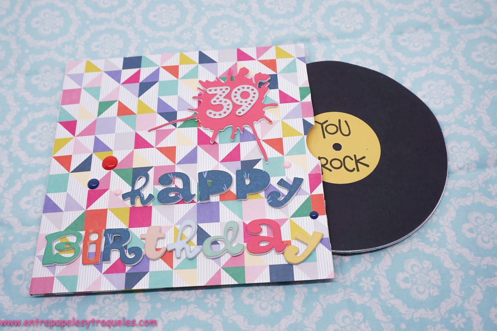 American Crafts Papel cumpleaños Deseos Cita y Tarjetas de cartulina 2 Actividades creativas