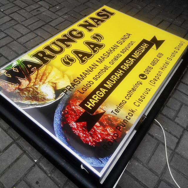 Pembuatan Neon Box Bogor