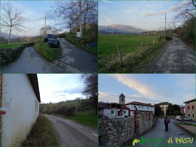 Senda del Chorrón y Foz del Río Valle: Carretera de Melarde a Villamayor
