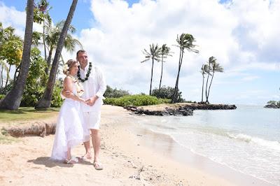 Kahala Beach Wedding