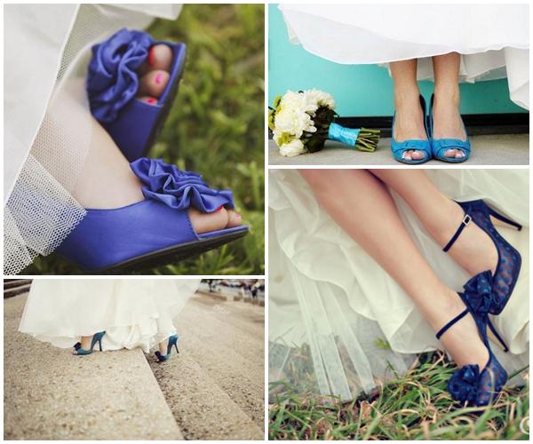 b0073730f8 Coutopé Calçados Blog  A moda dos sapatos de noiva coloridos!