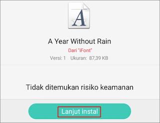 Cara Mengganti Font Android 5