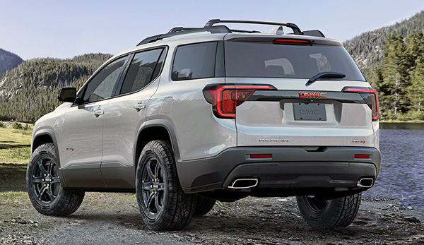 Burlappcar: More pictures of the 2020 GMC Acadia AT4