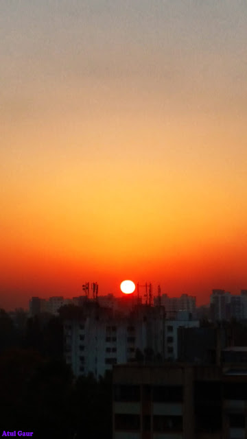 Sunrise Photographed By Atul Gaur