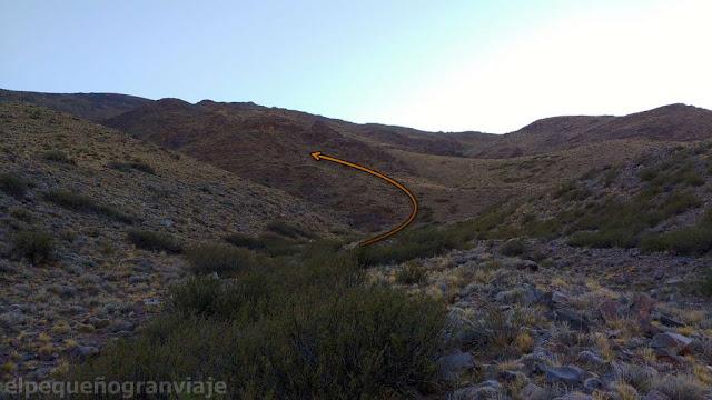 cerro bronce, cumbre, acceso a filo, senda, camino, permisos, refugios