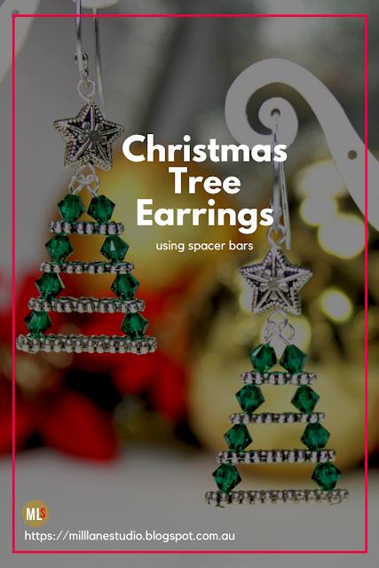 Evergreen Christmas Tree Earrings Inspiration Sheet